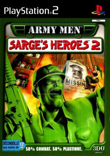 PS2 Army Men Sarges Heroes 2