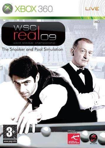 Xbox 360 WSC Real 09 - World Snooker Championship