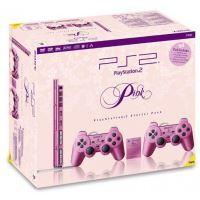 Originální balení pro Playstation 2 Slim - růžové