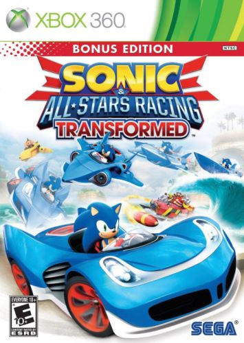 Xbox 360 Sonic And All Stars Racing Transformed