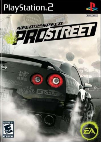 PS2 NFS Need For Speed Prostreet (CZ)