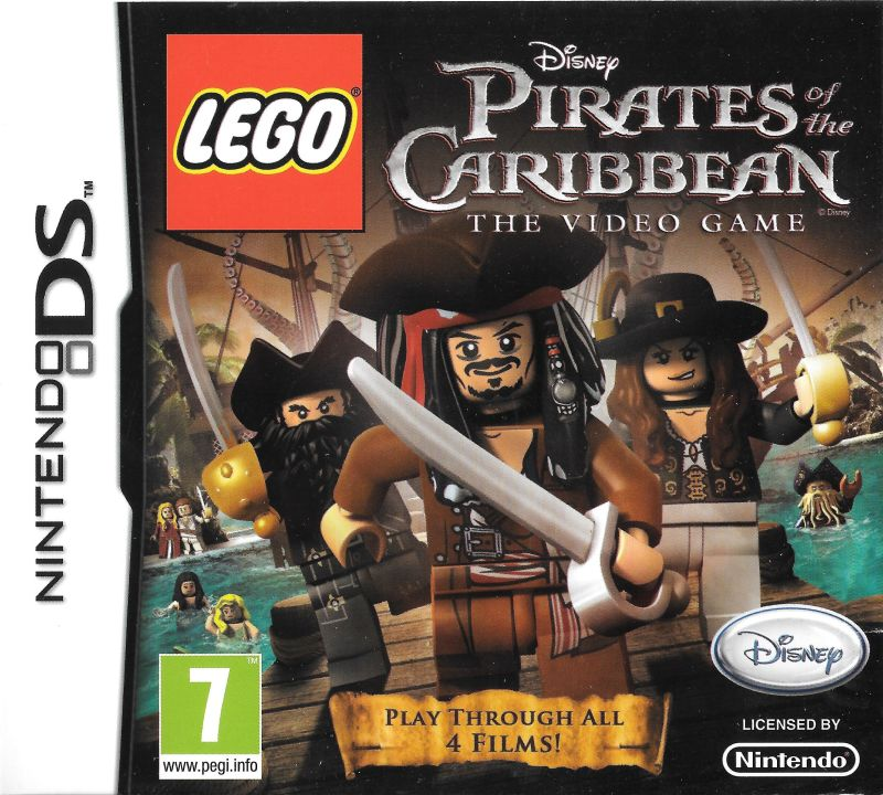 Nintendo DS Lego Pirates Of The Caribbean