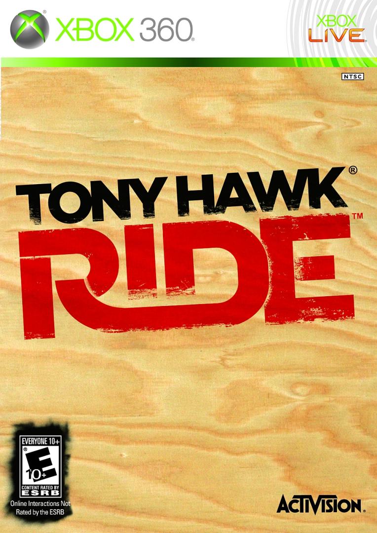 Xbox 360 Tony Hawk: Ride (iba hra)