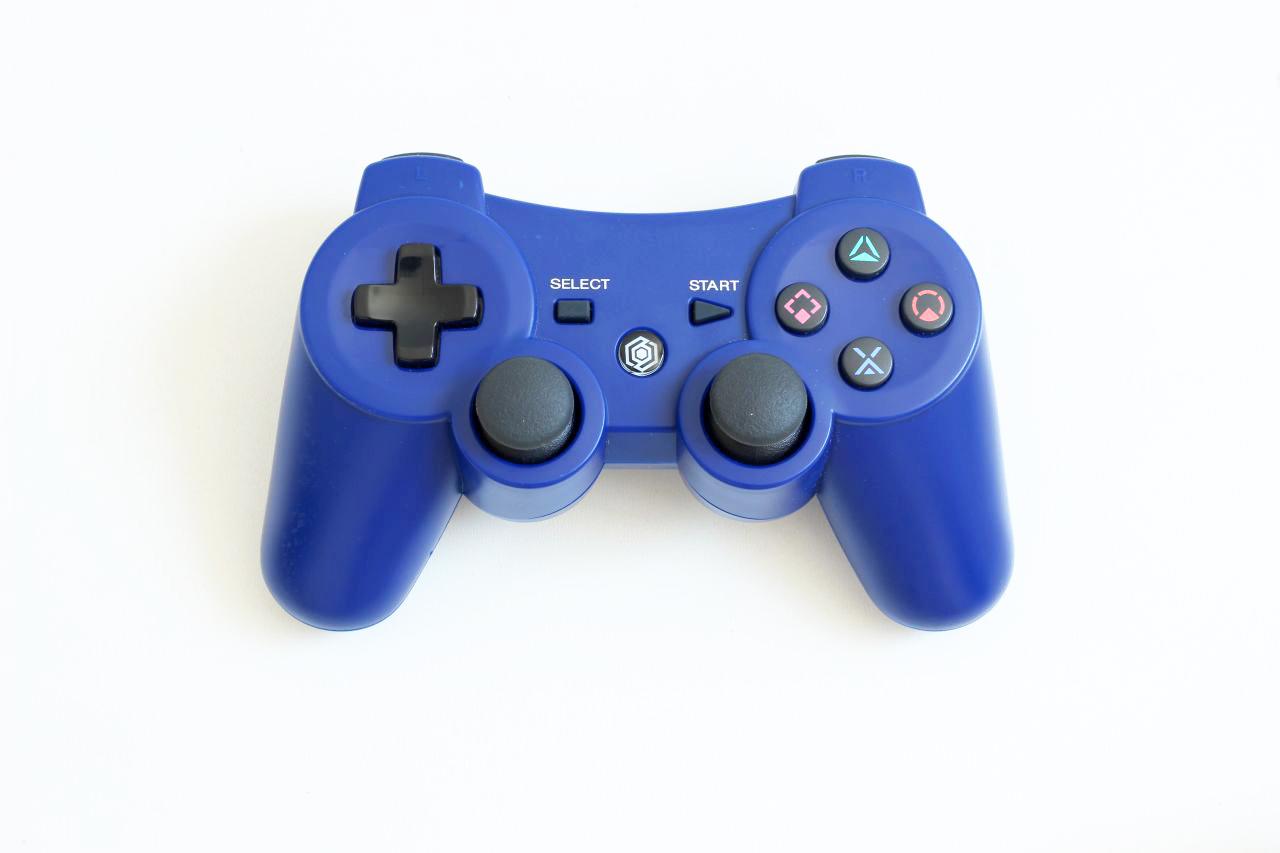 [PS3] Bezdrátový Ovladač - modrý (estetická vada)