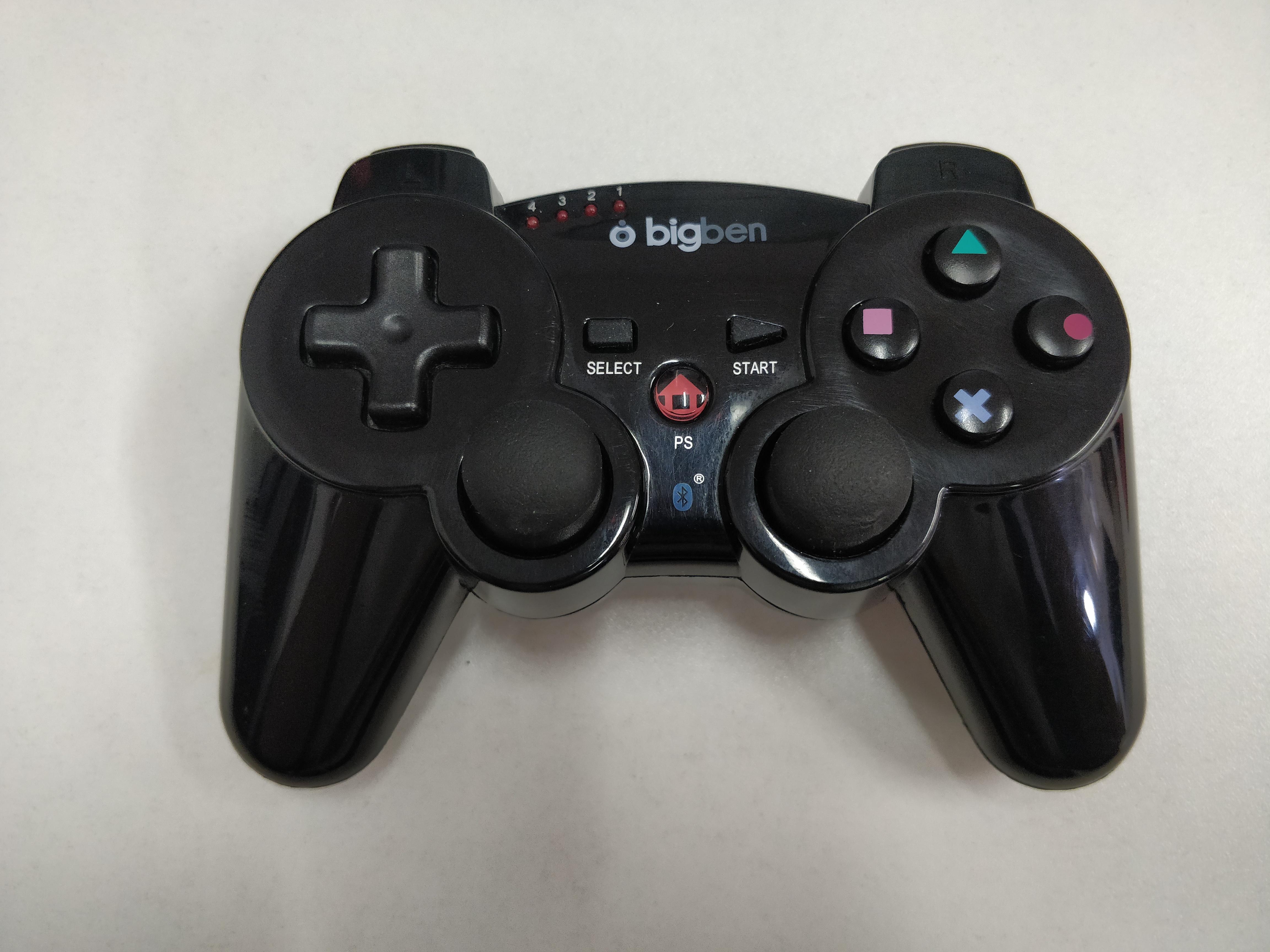[PS3] Bezdrátový Ovladač BigBen - černý (estetická vada)