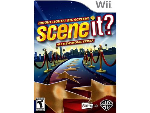 Nintendo Wii Scene It? Bright Lights - Big Screen