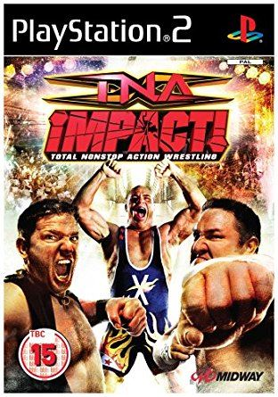 PS2 TNA Impact! Total Nonstop Action Wrestling