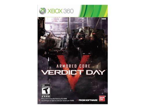 Xbox 360 Armored Core Verdict Day