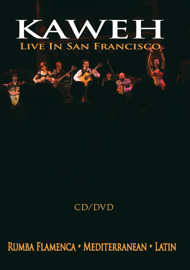 CD/DVD Film Kaweh Live In San Francisco