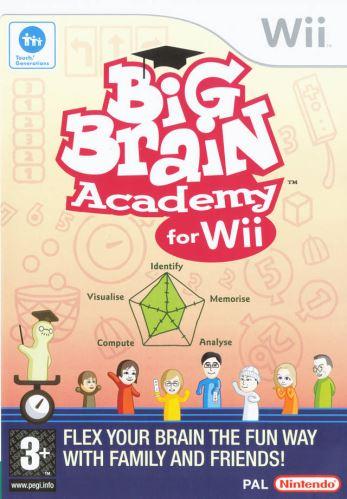 Nintendo Wii Big Brain Academy