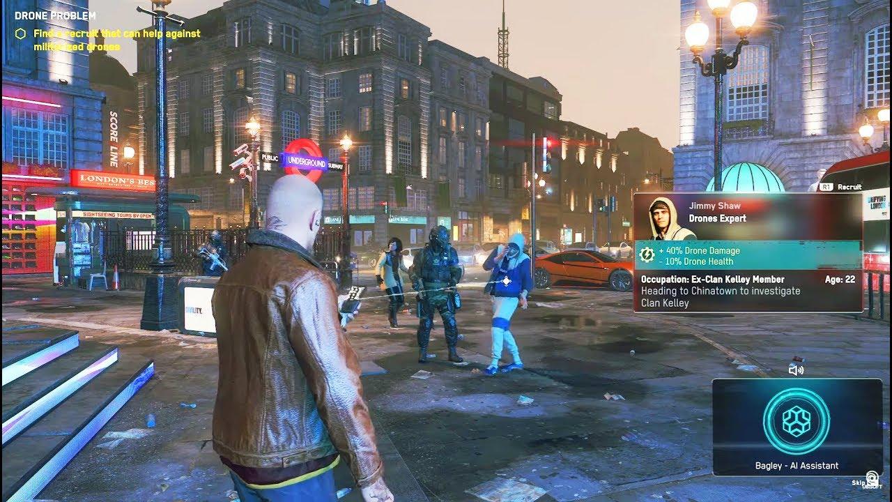 PS4 Watch Dogs 3 Legion