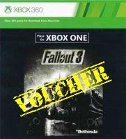 Voucher Xbox 360 Fallout 3