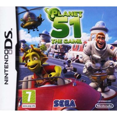 Nintendo DS Planet 51 The Game