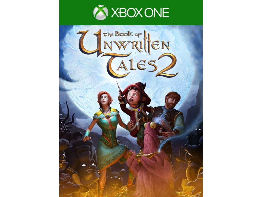 Xbox One The Book of Unwritten Tales 2 (nová)