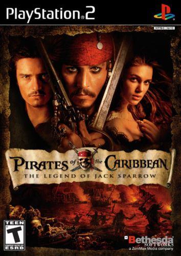 PS2 Piráti Z Karibiku Legenda Jacka Sparrowa - Pirates Of The Caribbean The Legend Of Jack Sparrow