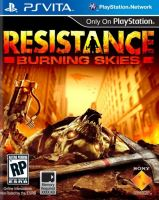 PS Vita Resistance Burning Skies