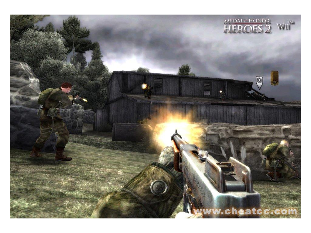Nintendo Wii Medal Of Honor Heroes 2
