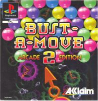 PSX PS1 Bust a Move 2 Arcade Edition