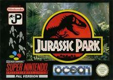 Nintendo SNES Jurassic Park