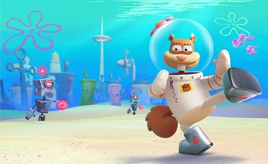 Xbox One Spongebob SquarePants Battle for Bikini Bottom Rehydrated
