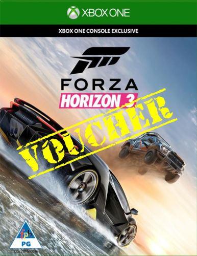 Voucher Xbox One Forza Horizon 3