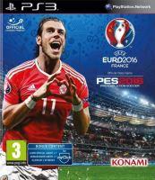 PS3 PES 16 Pro Evolution Soccer 2016 (UEFA Euro 2016 Edition)