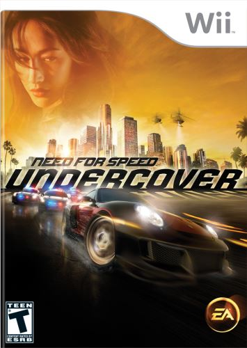 Nintendo Wii NFS Need For Speed Undercover