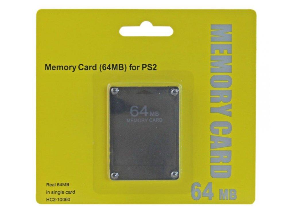 [PS2] Paměťová karta 64MB (nová)