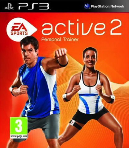 PS3 Active 2 Personal Trainer (pouze snímače)