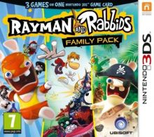 Nintendo 3DS Rayman and Rabbids Family Pack