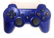 [PS3] Bezdrátový Ovladač Sony Dualshock - modrý (estetická vada)