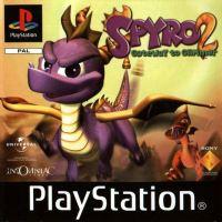 PSX PS1 Spyro 2 Gateway to Glimmer