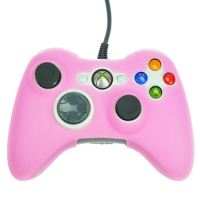 [Xbox 360] Protiskluzový Návlek Na Ovladač (růžový)
