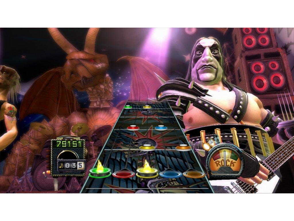 Xbox 360 Guitar Hero 3: Legends Of Rock (DE)