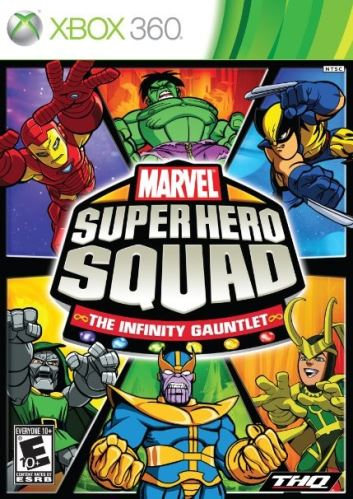 Xbox 360 Marvel Super Hero Squad: The Infinity Gauntlet