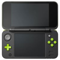 New Nintendo 2DS XL - zelenočerné