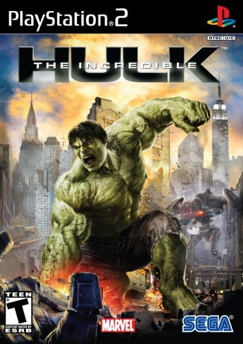 PS2 The Incredible Hulk