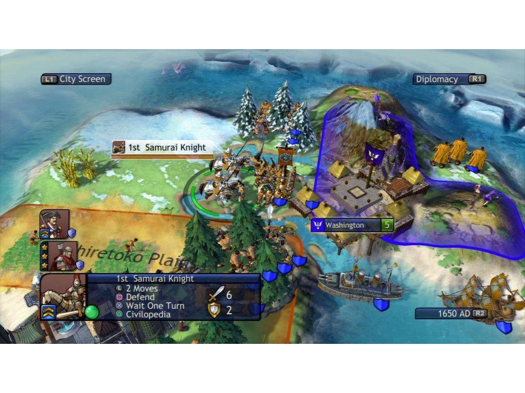 Xbox 360 Civilization Revolution