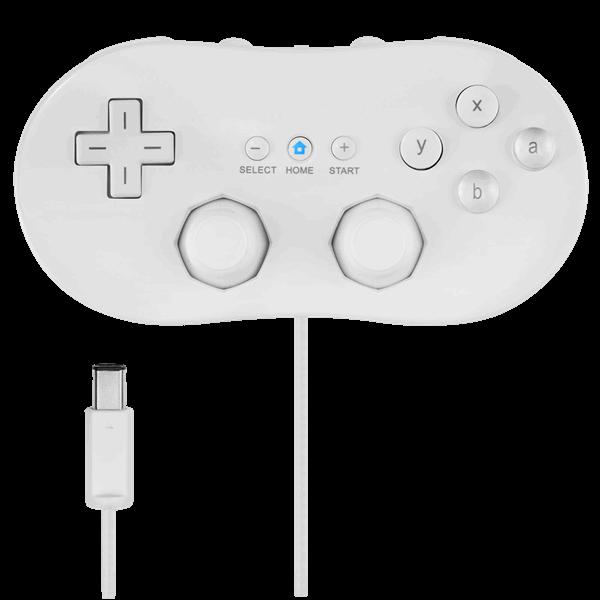 [Nintendo Wii] Ovladač Classic bílý (nový)