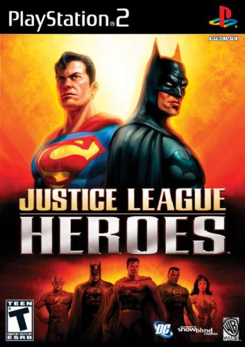 PS2 Justice League Heroes