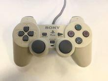 [PS1] Drátový Ovladač Sony Dualshock - bílý (nažloutlý) (estetická vada)