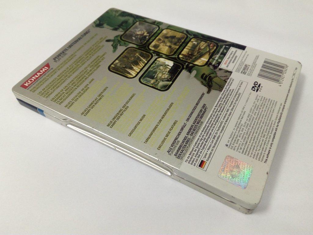 Steelbook - PS2 Metal Gear Solid 3: Snake Eater