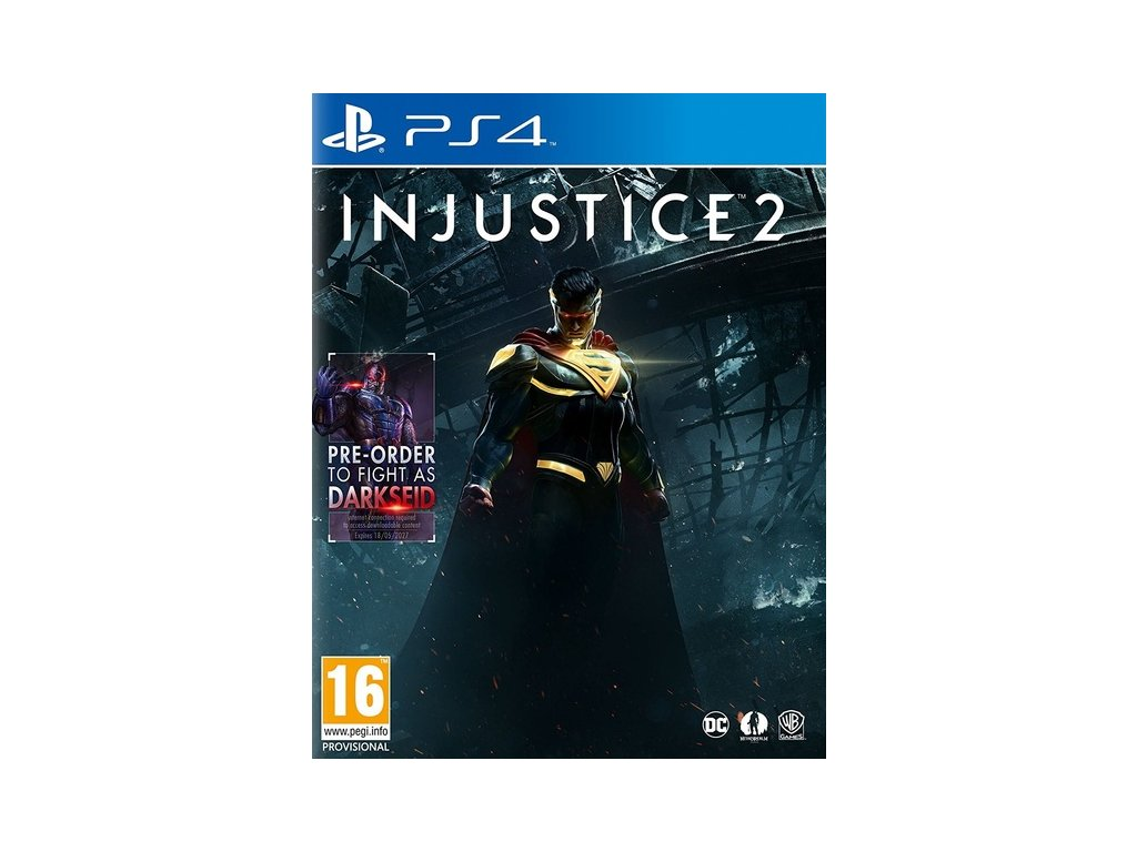 PS4 Injustice 2 (nová)