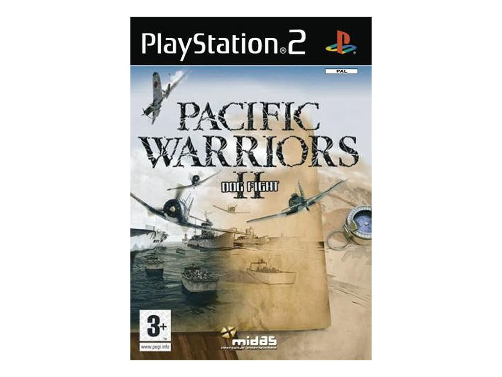 PS2 Pacific Warriors 2 Dogfight