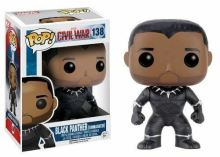 Funko POP! Black Panther (Unmasked) - Captain America: Civil War (nová)
