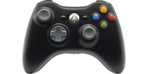 [Xbox 360] Bezdrátový Ovladač Microsoft - černošedý