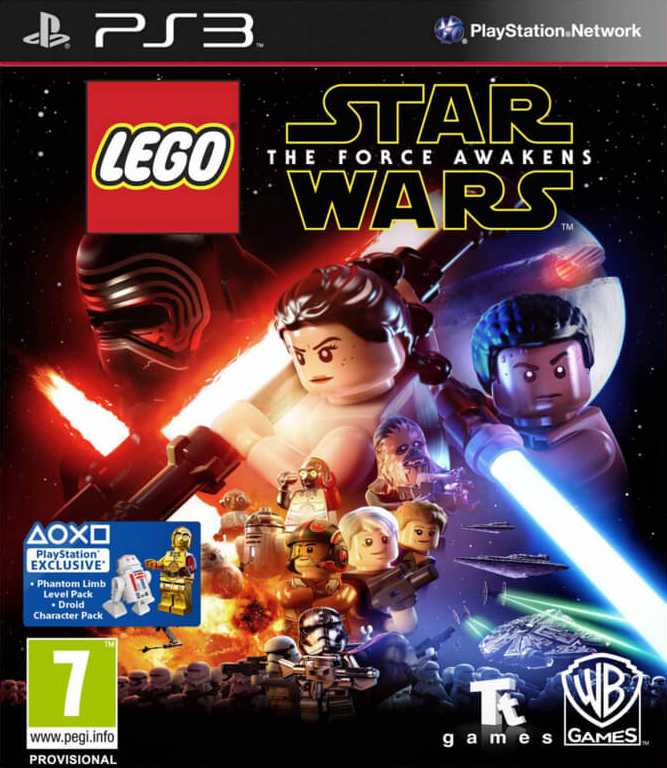 PS3 Lego Star Wars The Force Awakens (Bez obalu)