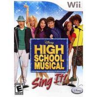 Nintendo Wii Disney - Sing It: High School Musical