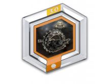 Disney Infinity herní mince: Vozidlo generála Grievouse (General Grievous' Wheel Bike)