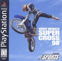 PSX PS1 Jeremy McGrath Supercross 98